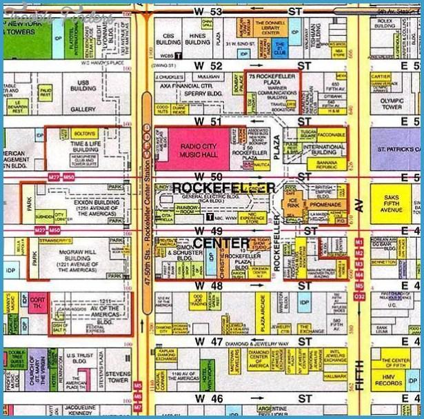 Rockefeller Center Map Smeka