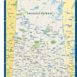 Saskatchewan Province Map Digital Creative Force