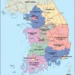 South Korea Maps Printable Maps Of South Korea For Download