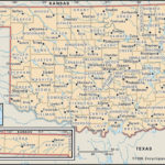 State And County Maps Of Oklahoma