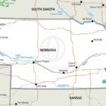 Stock Vector Map Of Nebraska One Stop Map