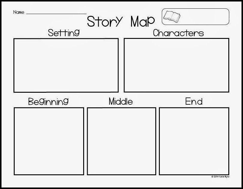 Story Map Freebie Kindergarten Writing Teaching