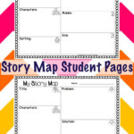 Story Map Student Pages First Grade Worksheets Student Map
