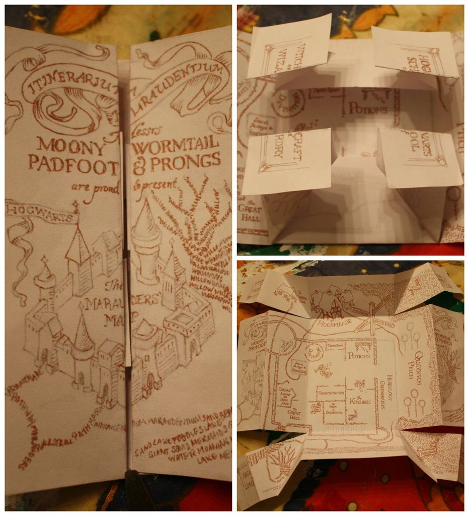 The Marauders Map Printable Printable Maps