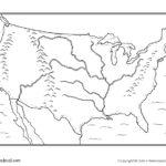 USA Blank Map Tim s Printables