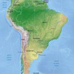 Vector Map South America Shaded Relief One Stop Map