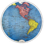 Vintage Printable Map Of The World Part 1 The