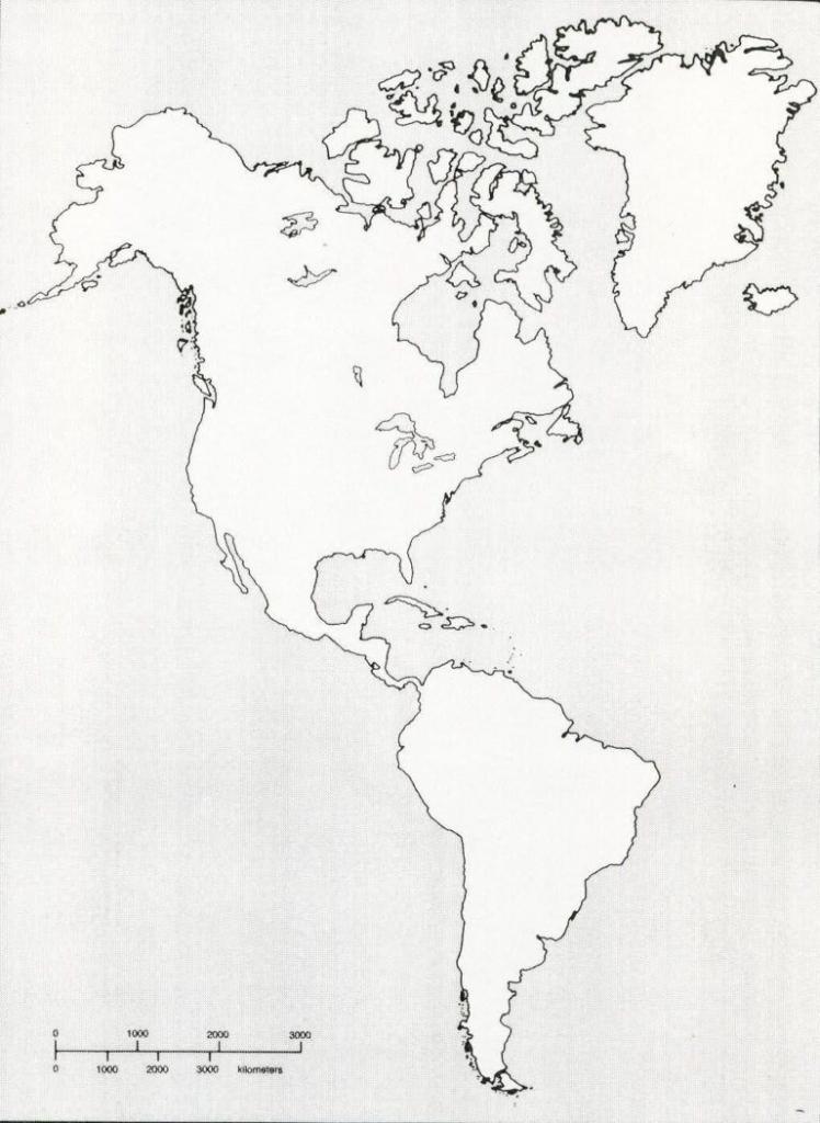 Western Hemisphere Maps Printable 199587 With Regard To