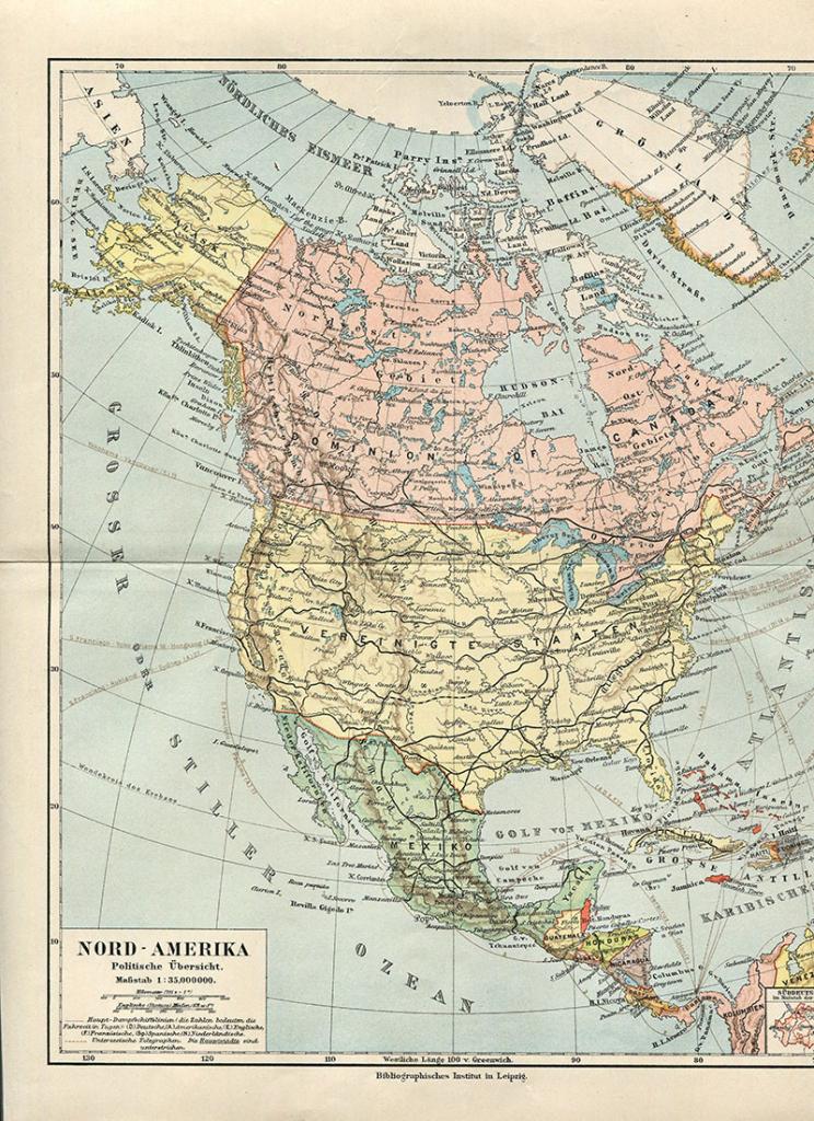 Wonderful Free Printable Vintage Maps To Download World
