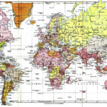 World Map With Latitude And Longitude Lines Printable Maps